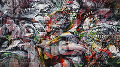 Graffiti Wall Google Background