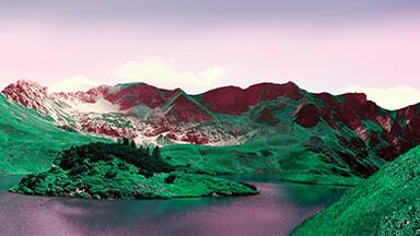 Green Mountain Hills Google Background