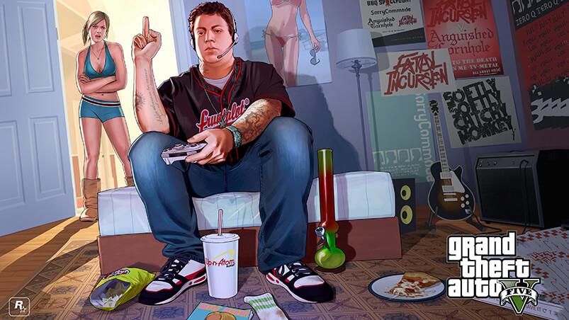 GTA 5 Jimmy Google Background ...