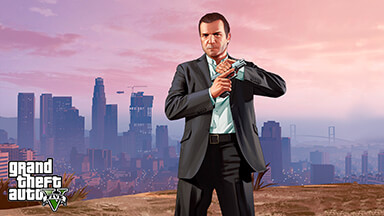 GTA 5 Micheal Google Background