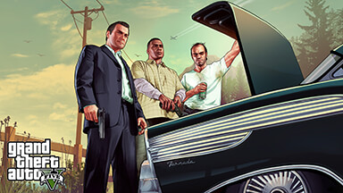 GTA 5 Trunk Chromebook Wallpaper