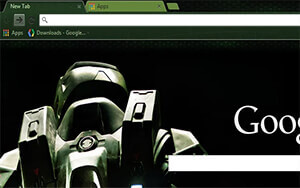 Halo HD Chrome Theme
