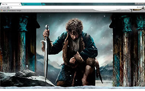 Hobbit: Battle Of Five Armies Chrome Theme