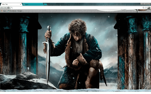 Free Hobbit Battle of Five Armies Google Chrome Theme