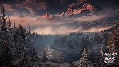 Horizon Zero Dawn The Frozen Wilds Google Background