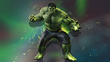 Hulk 3D Chromebook Wallpaper