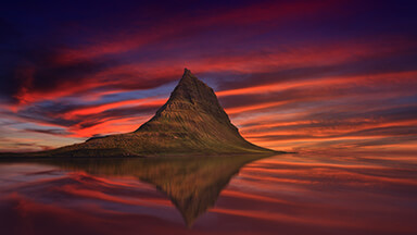 Kirkjufell Mountains Google Background