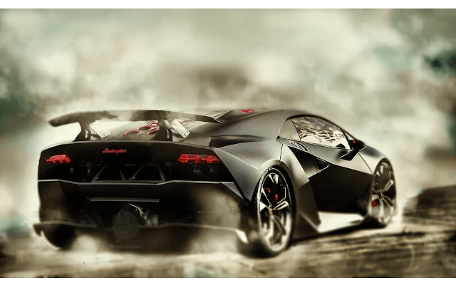 Free Lamborghini Drift Google Chrome Theme