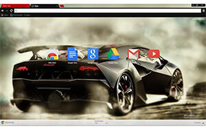 Lamborghini Drift Chrome Theme