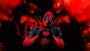 Love Deadpool Google Background