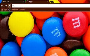 M&Ms Chrome Theme