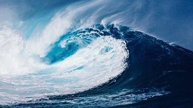 Mega Wave Google Background