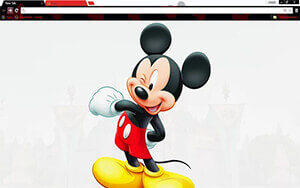 Mickey Mouse Chrome Theme