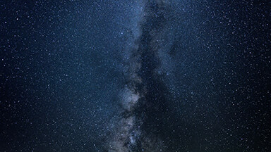 Milky Way Blue Google Background