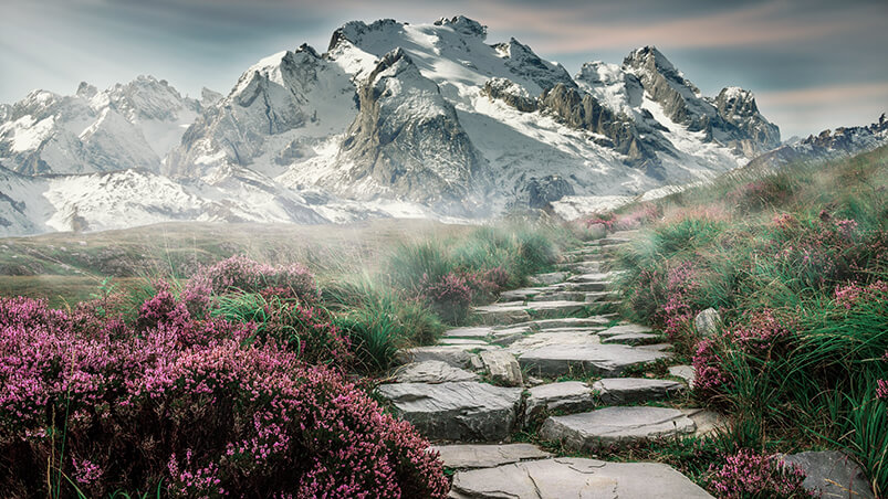 4k Mountain Landscape Wallpaper Hd