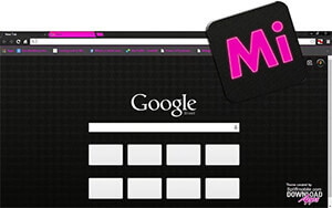 MyPro iPink Chrome Theme