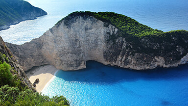 Navagio Beach Chromebook Wallpaper