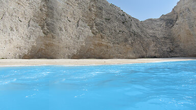 Navagio Blue Chromebook Wallpaper