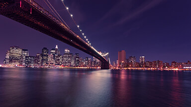 New York Nights Chromebook Wallpaper