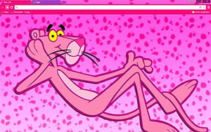 Pink Panther Chrome Theme