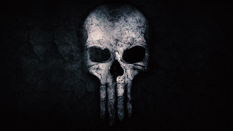 Punisher Skull Google Background ...