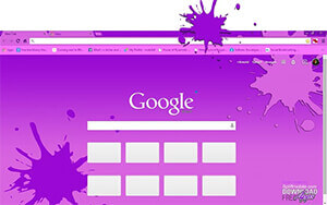Purple Pink Chrome Theme