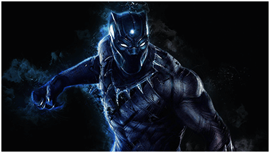 Black Panther ChromeBook Wallpaper