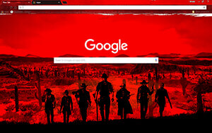Red Dead Redemption Chrome Theme