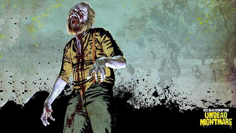 RDR Zombie Uncle Google Background ...