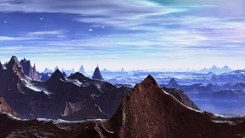 SciFi Planet Google Background ...