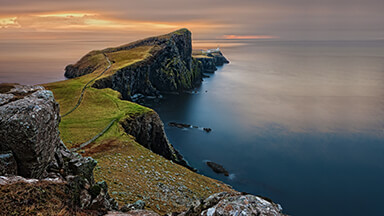 Scottish Cliffs Chromebook Wallpaper