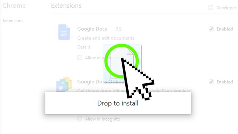 Install .CRX Files ...