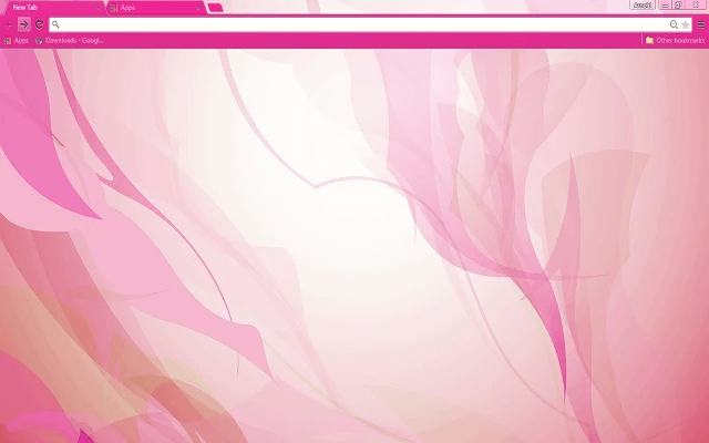 Free Shades Of Pink Google Chrome Theme