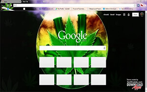 Smoking Bongs Chrome Theme