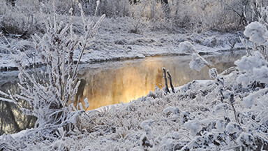 Snowy Creek Google Background