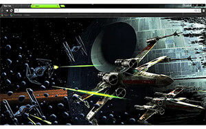 Star Wars Chrome Theme