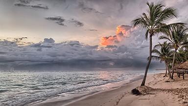 Stormy Shore Google Background