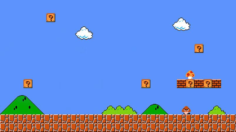 Super Mario Bros Google Background ...
