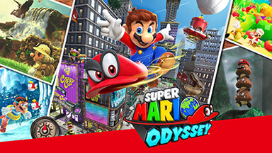 Super Mario Odyssey Google Background