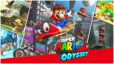 Super Mario Odyssey ChromeBook Wallpaper