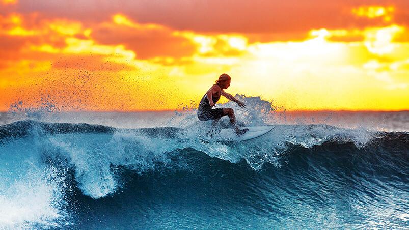 Surfer Google Background ...
