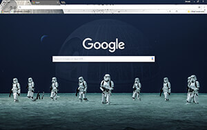 Star Wars Rogue One Chrome Theme