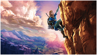 The Legend Of Zelda Breath Of The Wild ChromeBook Wallpaper