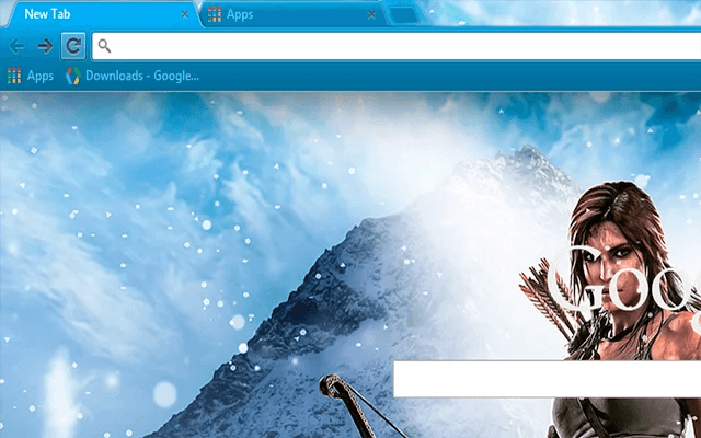 Tomb Raider - Google Homepage