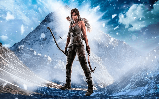 Tomb Raider - Web Apps