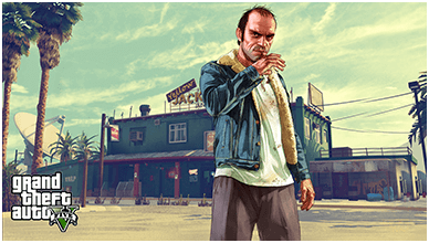 Trevor Philips ChromeBook Wallpaper