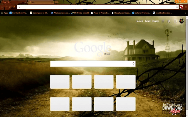 Walking Dead Farmhouse - Google Homepage
