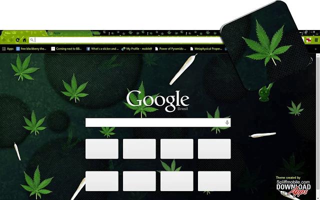 Weed 4K Google Theme