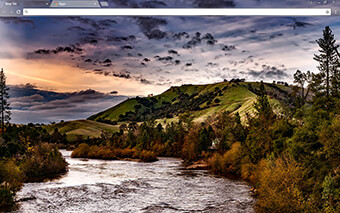 American River Google Chrome Theme