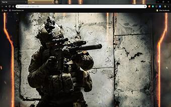 Army Ranger Google Chrome Theme